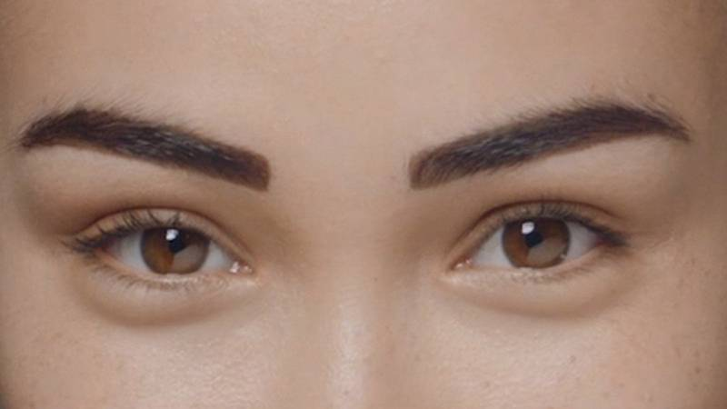 how to get maybelline brow tattoo off
