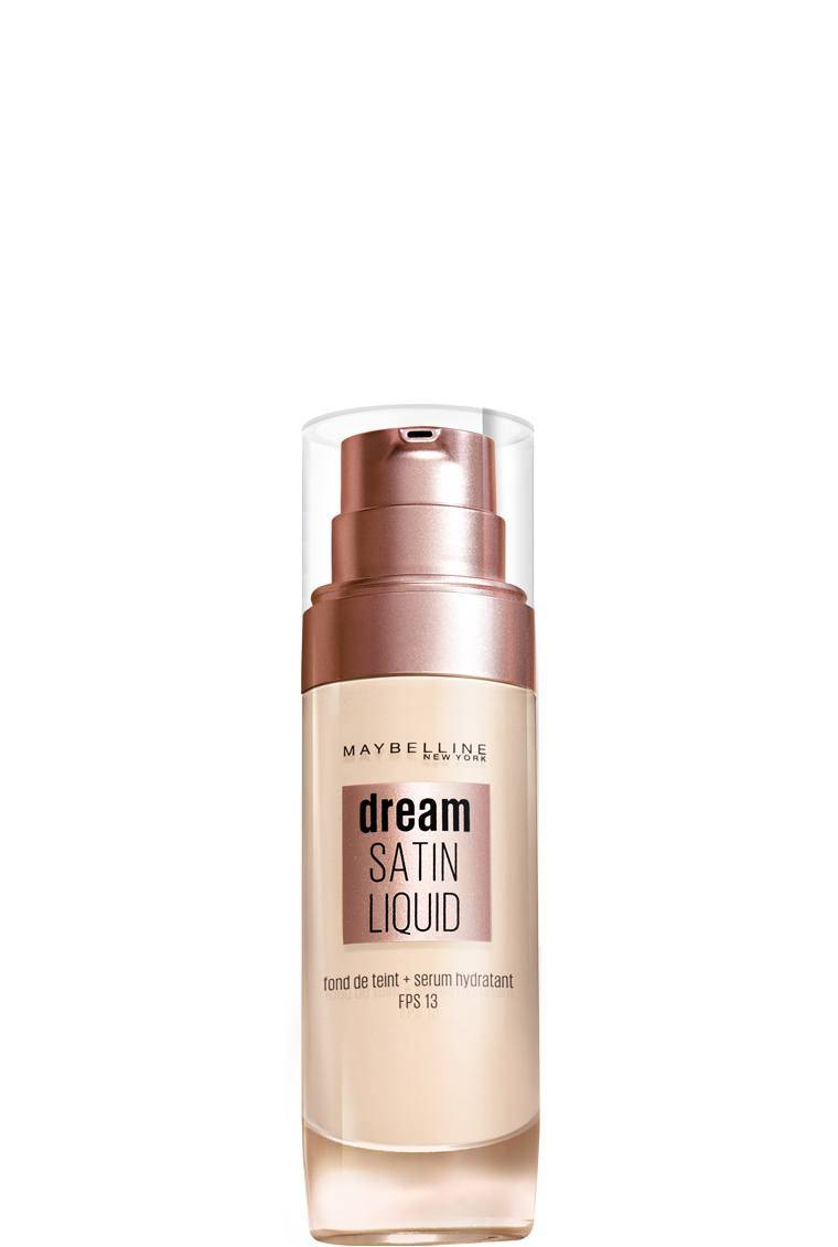2a90ec78b5d9 Fond de teint liquide dream satin liquid - Maybelline