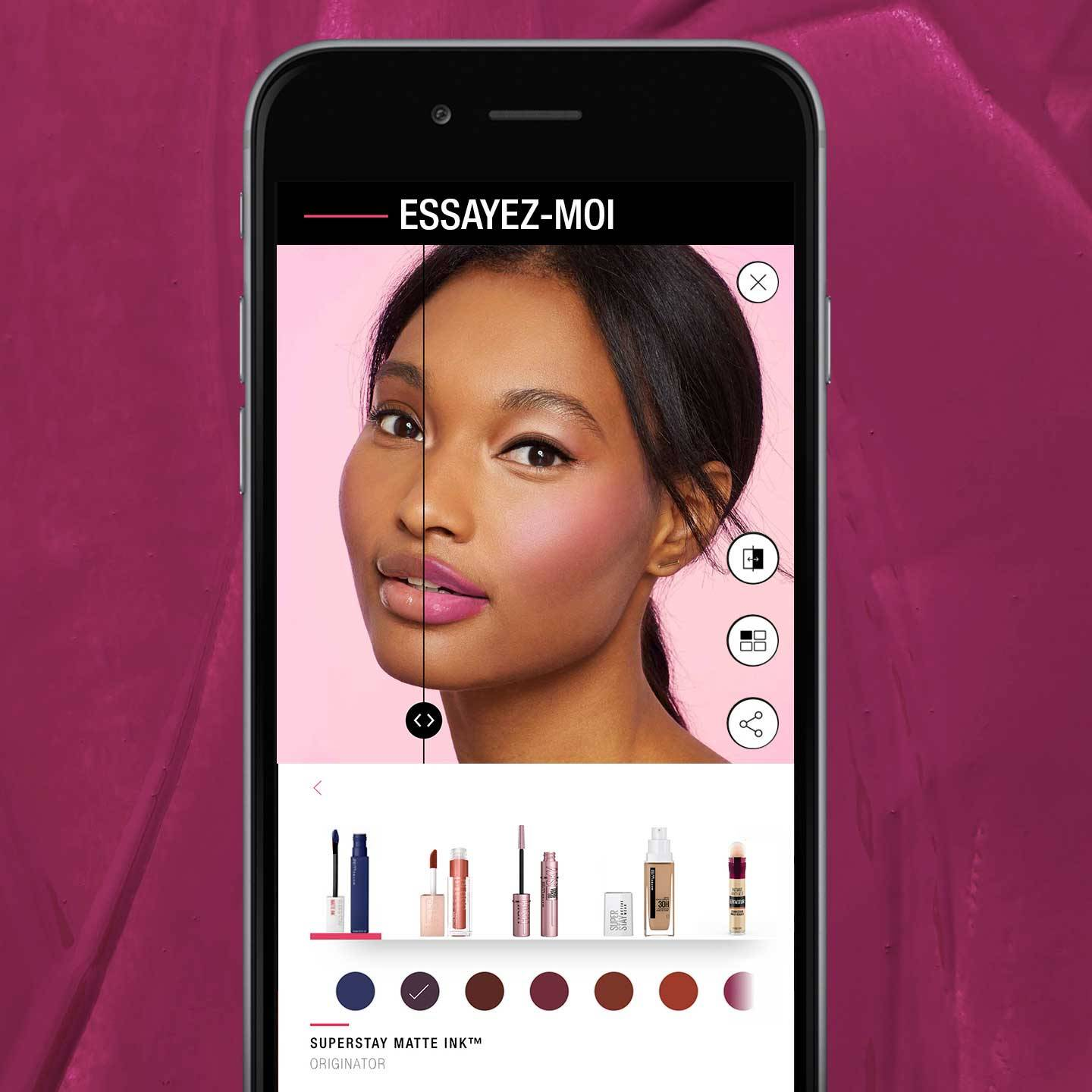 Maybelline New York Virtual Try On