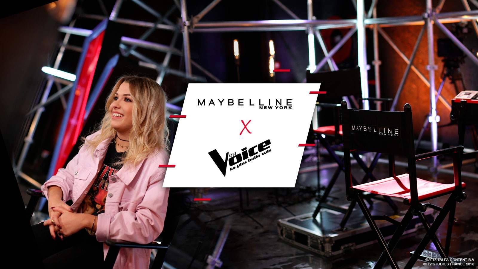 Maybelline x The Voice