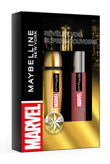 Coffret Edition limitée Marvel x Maybelline New York
