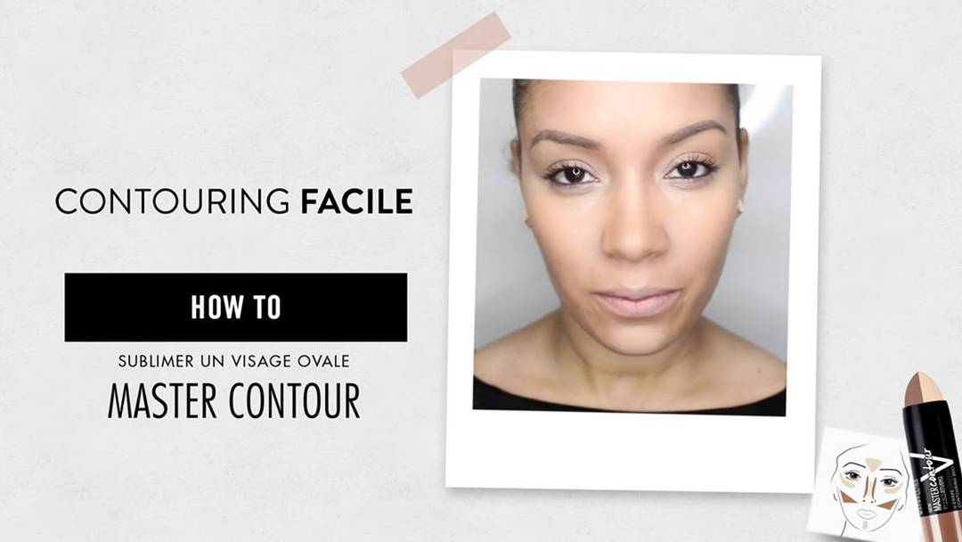Super Comment sublimer un visage ovale ? - Maybelline ZK38