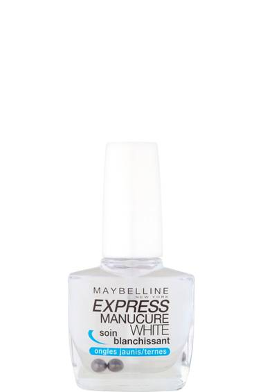 Soin des ongles jaunis/ternes Express Manucure White Vernis Blanchissant