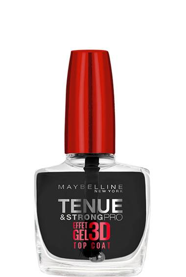 Top Coat Professionnel Tenue & Strong Pro Effet gel 3D